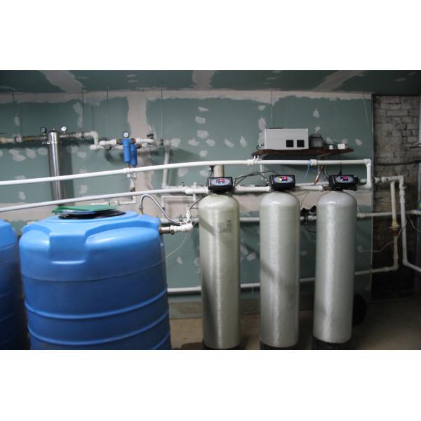 Установка системы водоподготовки для для гос. структуры.
