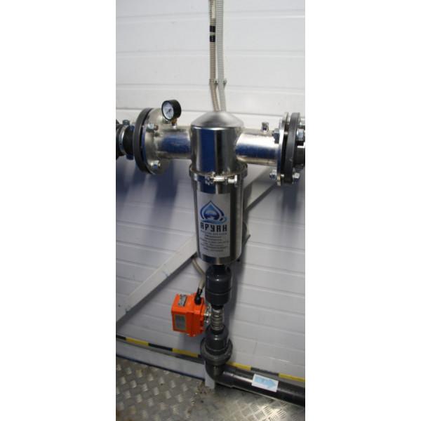 Установка комплексной системы фильтрации для подачи чистой питьевой воды в Сергиево-Посадский р-н.
