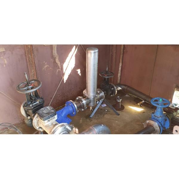 Структура Жилого комплекса дачных поселков решила установить фильтр Аурус 40